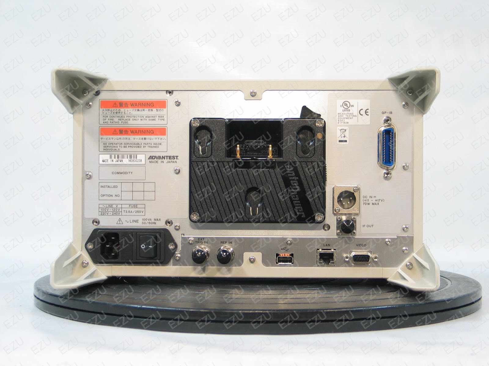 Advantest U3751 Back Photo