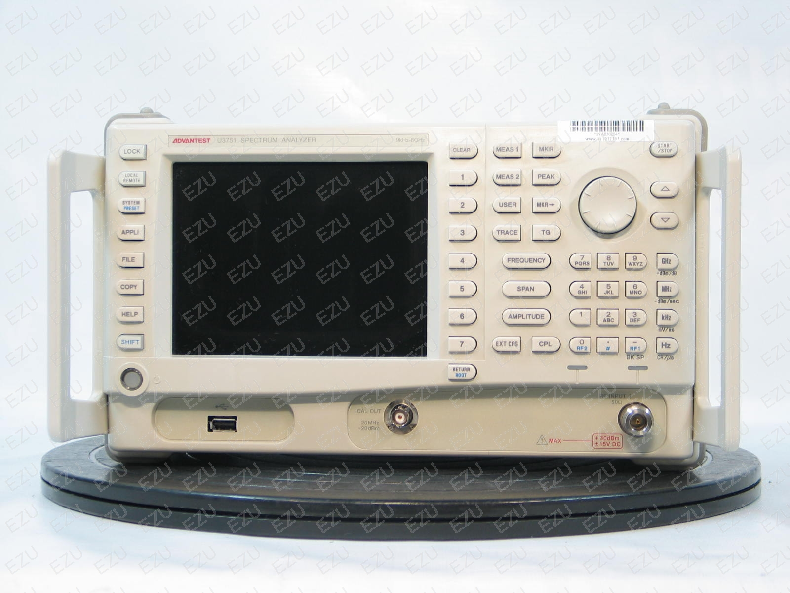 Advantest U3751 Front Photo
