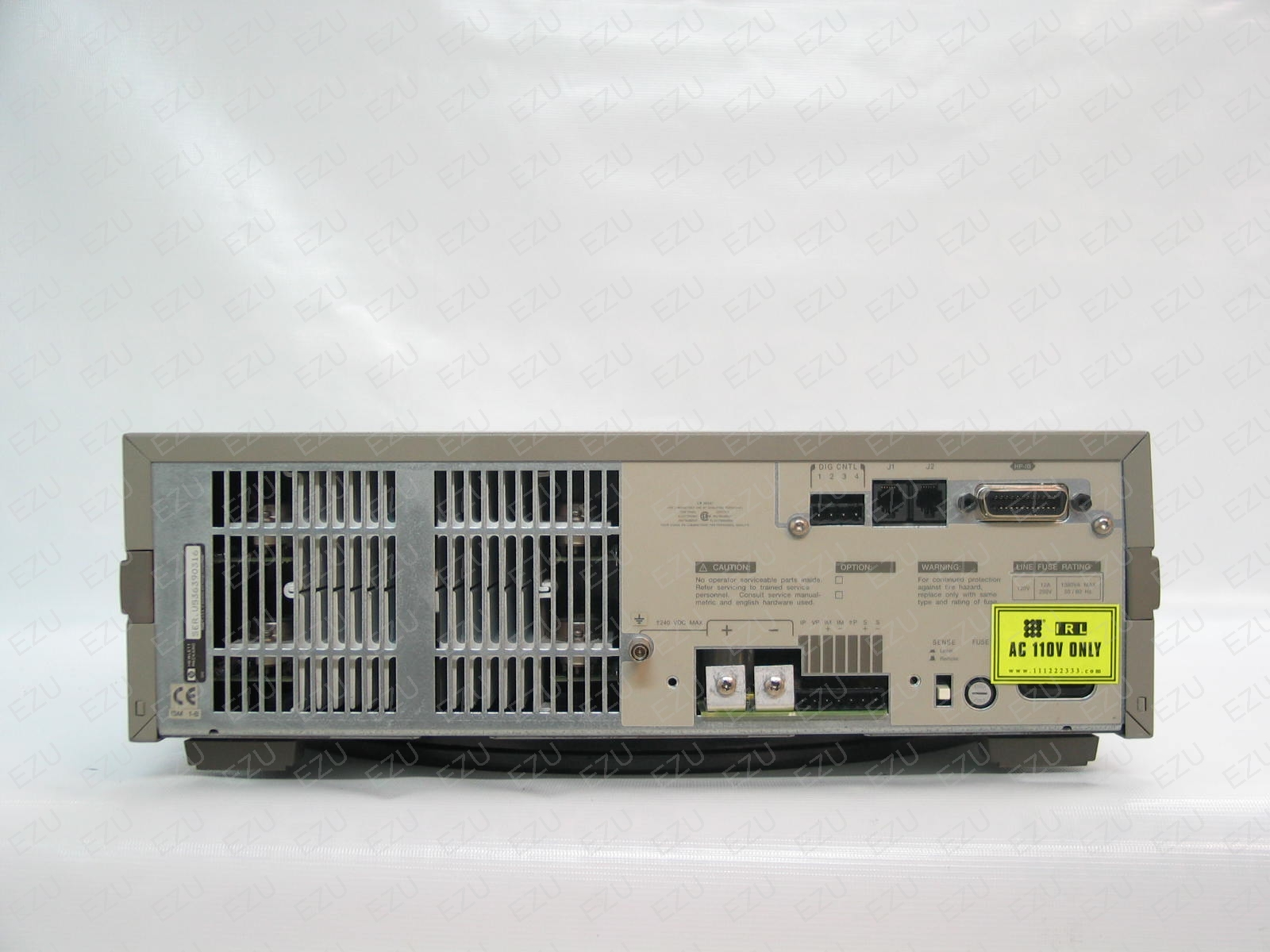 Agilent 6655A Back Photo