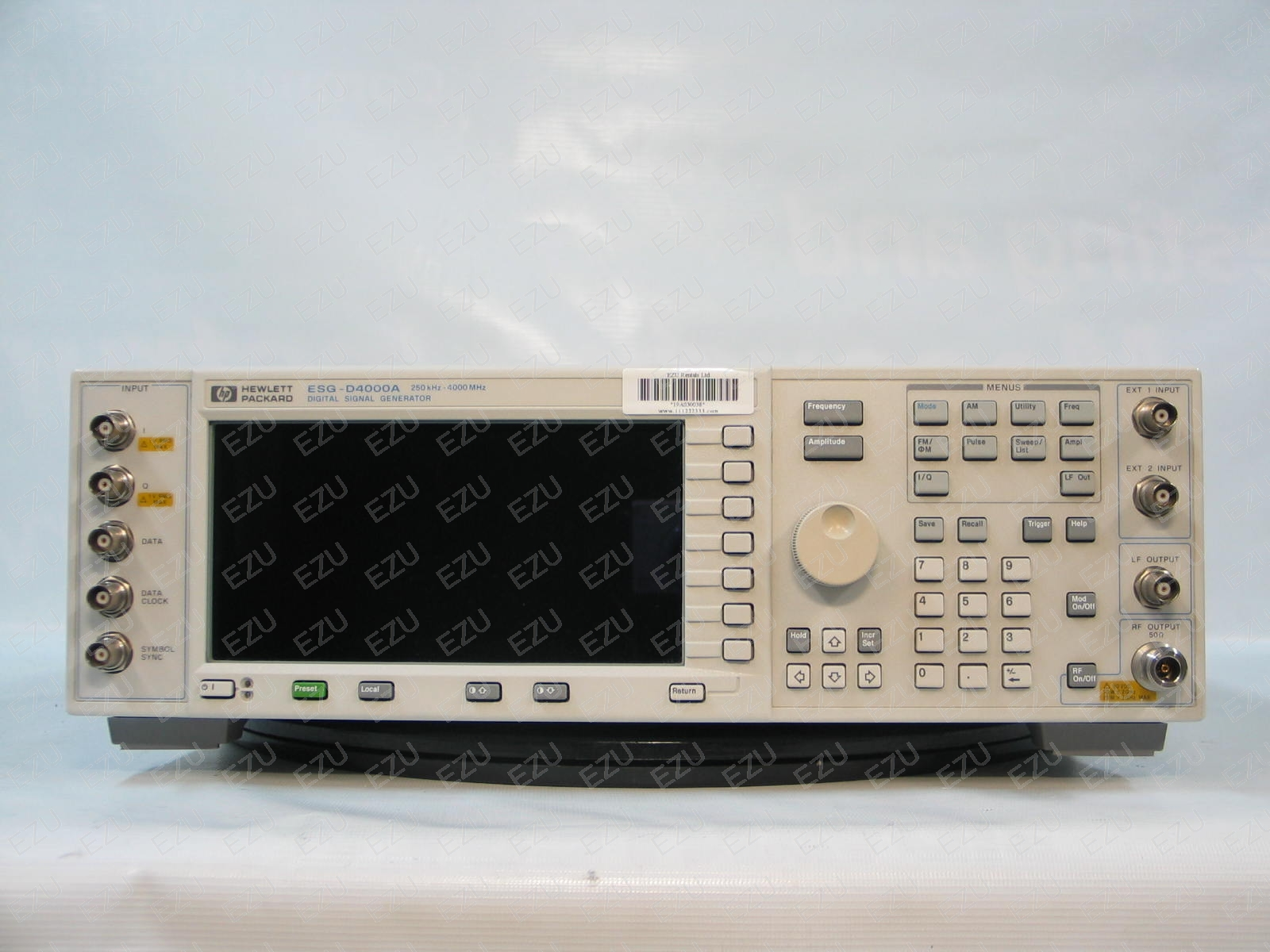 Agilent Esg D4000a Photo Signal Generator 250khz To 4ghz Digital Mod Acts As An Output Of The Circuit Click View Fullsize Picture