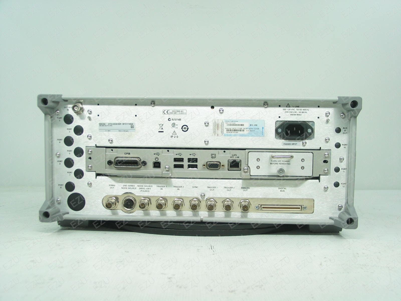 Agilent N9020A Back Photo
