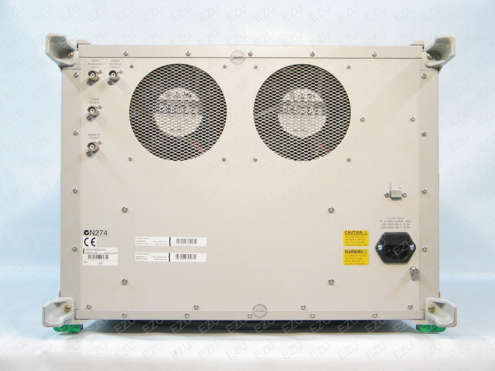 Anritsu MD8480B - Back Photo
