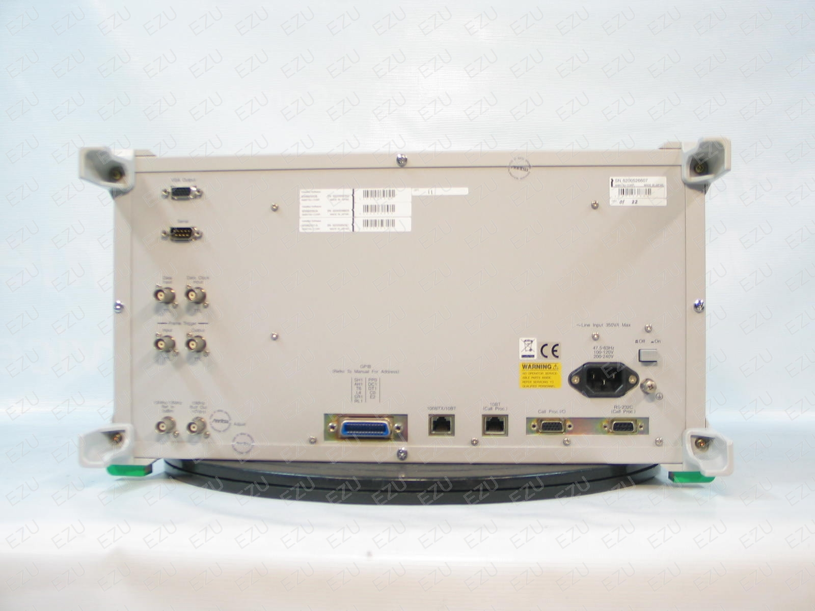Anritsu MT8815A Back Photo